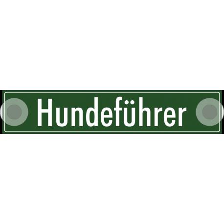 """Schilder """"Hundeführer"""""""