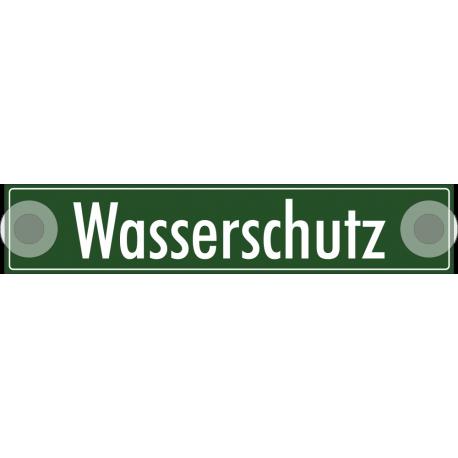 """Schilder """"Wasserschutz"""""""