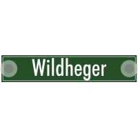 """Schilder """"Wildheger"""""""