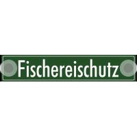 """Schilder """"Fischereischutz"""" (Grün)"""