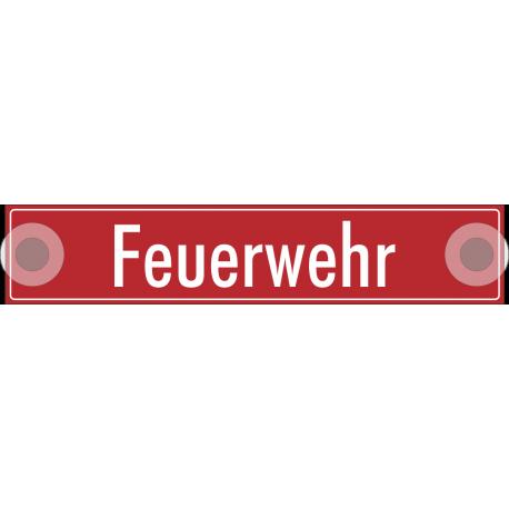 """Schilder """"Feuerwehr"""""""