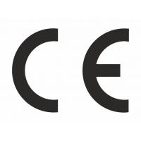 CE-Zeichen rechteckig weiß