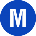 """Markierungsaufkleber """"Gleichstromnetz Mittelleiter"""""""