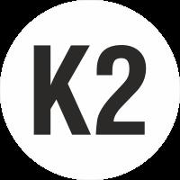 """Markierungsaufkleber """"Ortsveränderliche Betriebsmittel K2"""""""