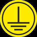 """Markierungsaufkleber """"Schutzleiter"""" (gelb)"""