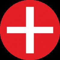 """Markierungsaufkleber """"Positiv"""" (rot)"""