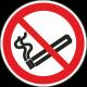 """Schilder """"Rauchen verboten"""""""
