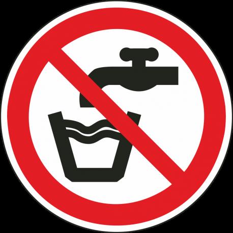 """Schilder """"Kein Trinkwasser"""""""