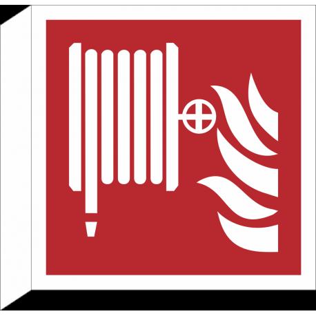"""Schilder """"Löschschlauch"""" (rechtwinkliges Modell)"""