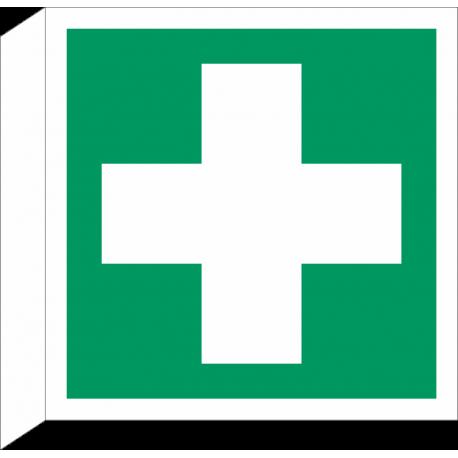 """Schilder """"Erste Hilfe"""" (rechtwinkliges Modell)"""
