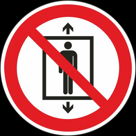 """Schilder """"Personenbeförderung verboten"""""""