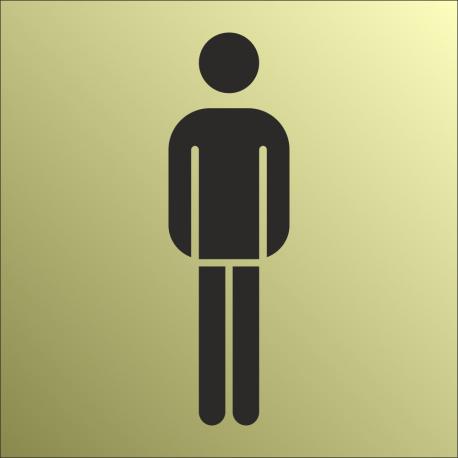 Schilder Herrentoilette