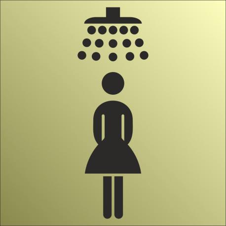 Schilder Damendusche