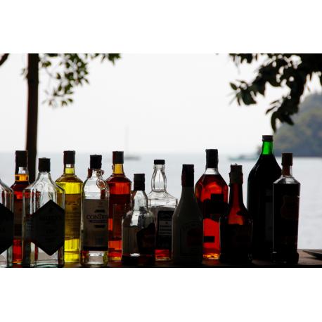 Foto auf Plexiglas - Alkohol
