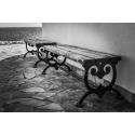 Foto auf Plexiglas - Elegante Couch