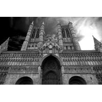 Kathedrale von Lincoln - Foto auf Plexiglas