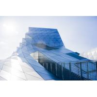 Foto auf Plexiglas - Gläser Architektur