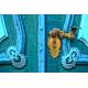 Foto auf Plexiglas - Schloss Tür