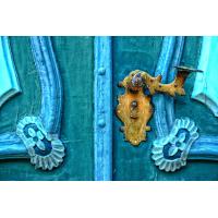 Foto auf Plexiglas - Schlosstür