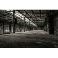 Foto auf Plexiglas - Verlassenes Lager