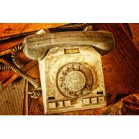 Foto auf Plexiglas - Telefon
