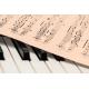 Foto auf Plexiglas - Klavier