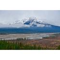 Foto auf Plexiglas - Beschneite Berge