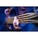 Foto auf Plexiglas - Bassgitarre