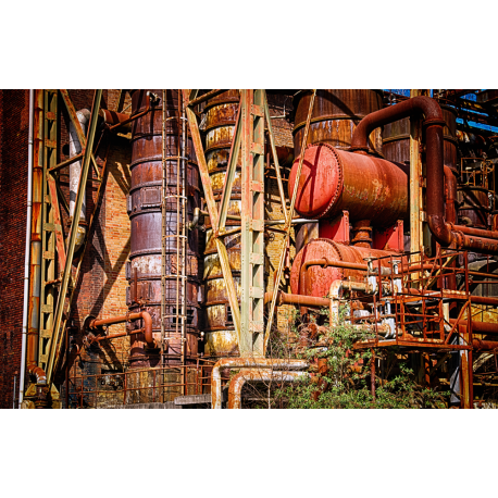 Foto auf Plexiglas - Fabrik