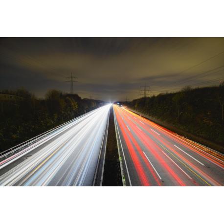 Foto auf Plexiglas - Autobahn
