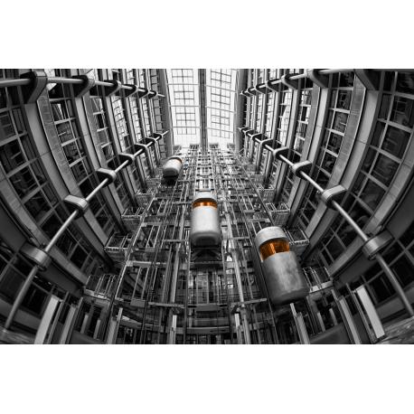 Foto auf Plexiglas - Aufzüge