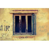 Foto auf Plexiglas - Fenster