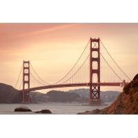 Foto auf Plexiglas - Golden Gate Bridge
