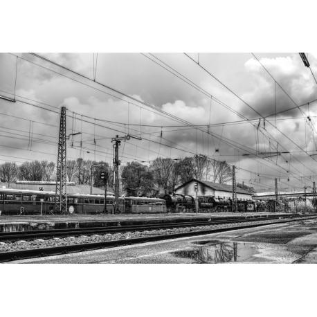 Foto auf Plexiglas - Zug