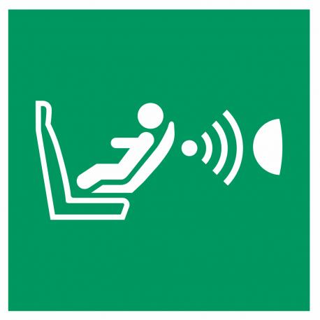 """Schilder """"Automatische Kindersitzerkennung und dessen Orientierung (CPOD)"""""""