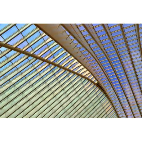 Foto auf Plexiglas - Bahnhof Liège