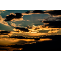 Foto auf Plexiglas - Sonnenuntergang Abendhimmel