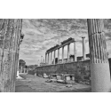 Foto auf Plexiglas - Ruine