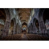 Foto auf Plexiglas - Kirche