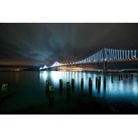 Foto auf Plexiglas - Brücke