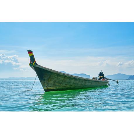 Foto auf Plexiglas - Boot