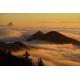 Foto auf Plexiglas - Bergen