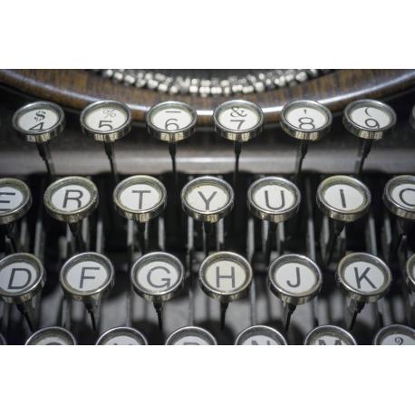 Foto auf Plexiglas - Typemachine