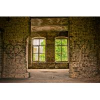 Foto auf Plexiglas - verlassenes Haus
