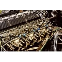 Foto auf Plexiglas - Motorblock Jaguar
