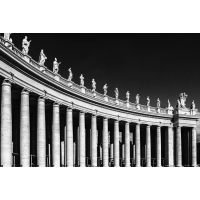 Foto auf Plexiglas - Petersdom