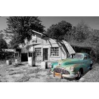 Foto auf Plexiglas - Chrysler Oldtimer