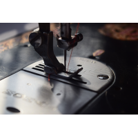 Foto auf Plexiglas - Nähmaschine