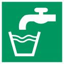 """Aufkleber """"Trinkwasser"""""""