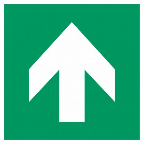 """Aufkleber """"Richtungsangabe aufwärts"""""""